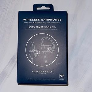 American Eagle Bluetooth Wireless Earphones Control Buttons For Ease Of Use